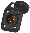 Water and Dust Proof XLR Plate Mount Plug