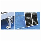 Solar Panel Mounting Back Leg 10-15 degrees