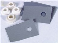 TO-220 Silicon Rubber Insulating Kit - Pk.4