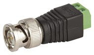 BNC Plug with Screw Terminal