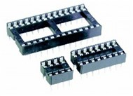 16 Pin Production (Low Cost) IC Socket