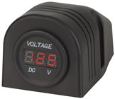 Panel/Surface Mount LED Voltmeter 5-30VDC