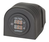 Panel/Surface Mount LED Voltmeter and Ampmeter