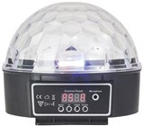 LIGHT LED ROTATE MINI BALL RGB DMX 240V