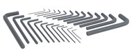 25 Piece Allen Key Set