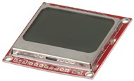 Arduino Compatible 84x48 Dot Matrix LCD Display Module