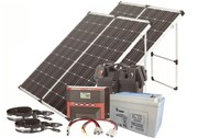 360W Expedition Fold-up Panel Solar Pack