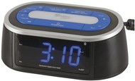 LED Clock Radio with Night Light and Bluetooth Technology