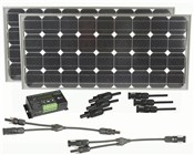 Recreational Solar Panel Premium Package 160W