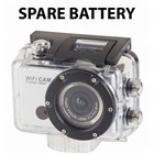Spare Li-ion Battery for QC8021 Wifi Sports Camera
