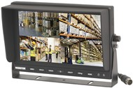 "9"" LCD Monitor with 4 Channel DVR"