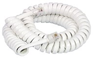 3m Replacement Handset Curly Cords With 4P/4C US Modular Plug