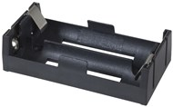 2 X 18650 Side by Side Battery Holder with 150mm lead
