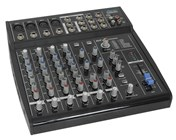 8-Channel Compact Mixing Console with Digital Effects
