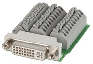 SKT DVI PANEL MNT PUSH-IN TERMINAL BLOCK