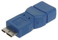 USB 3.0 Micro Plug B to Socket A Adaptor